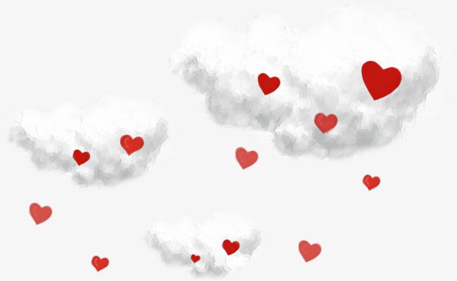 云朵和爱心