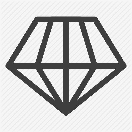 商务钻石iconpng素材-90设计