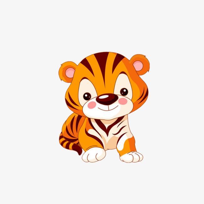 可爱老虎卡通头像三张 超可爱的卡通头像图片图片