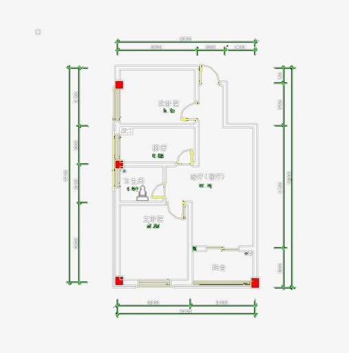 室设平面图素材图片免费下载 高清png 千库网 图片编号8292994