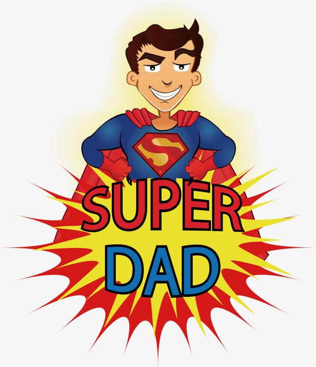 super dad 超人 卡通
