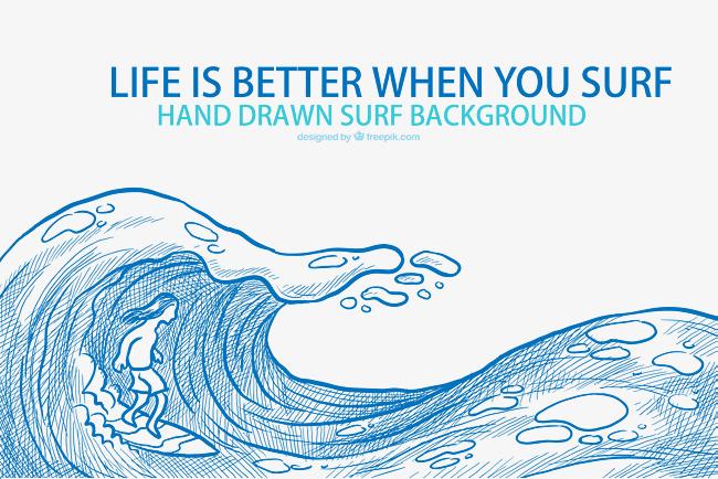 素描海水下载素材图片免费下载 高清psd 千库网 图片编号8305719