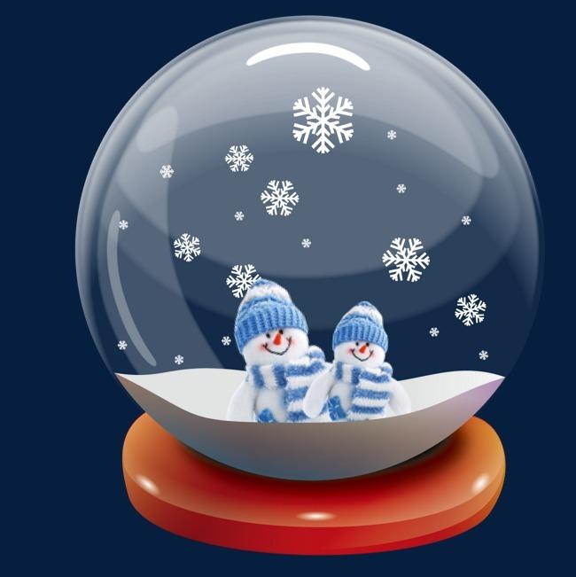 可爱水晶球图片