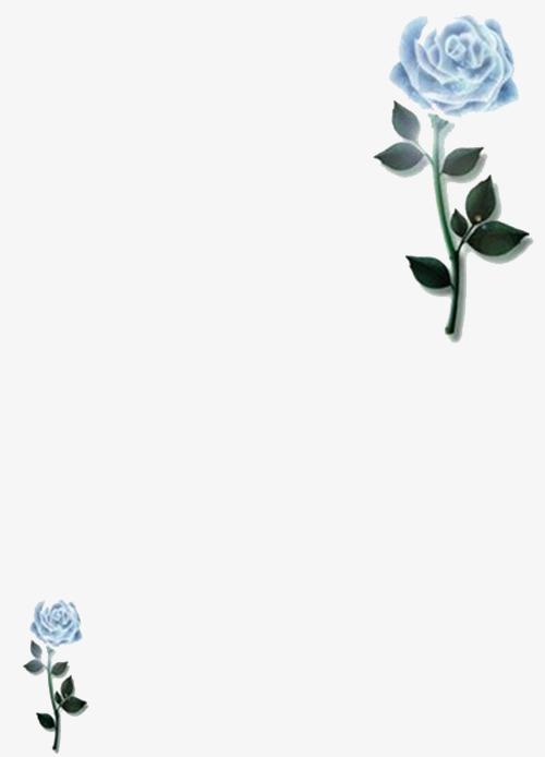 蔷薇书信边框png素材下载_高清图片png格式(编号:)-90