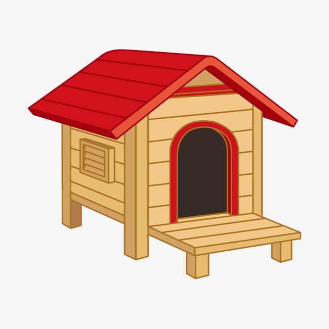 Picture Of Cartoon Dog House