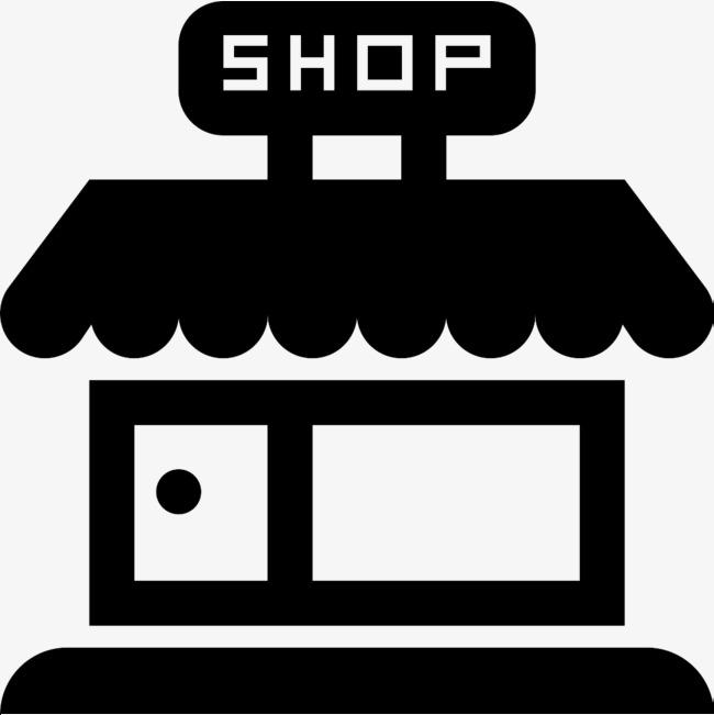 简洁小区商店图标