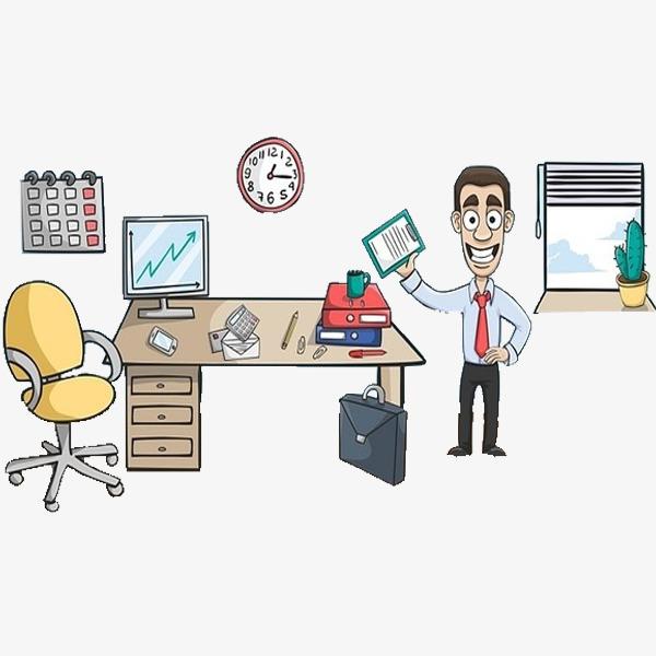 一个办公室图片