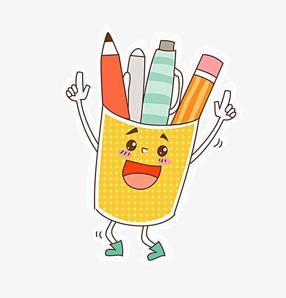 图片 > 【png】 铅笔筒表情  分类:手绘动漫 类目:其他 格式:png 体积