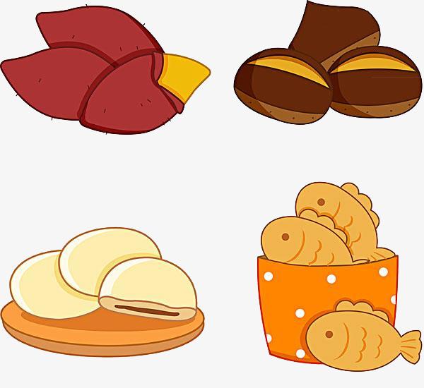 手绘卡通_手绘食物png素材-90设计