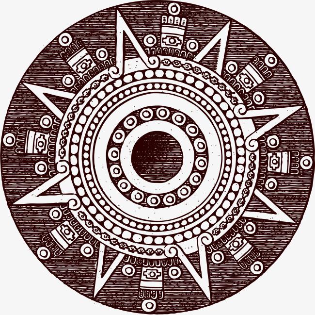 本次手绘花纹圆形图案作品为设计师manda-马创作,格式为png,编号为