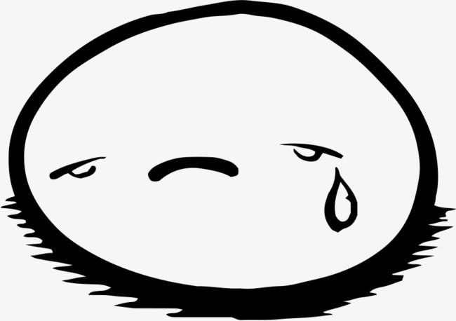流泪的表情