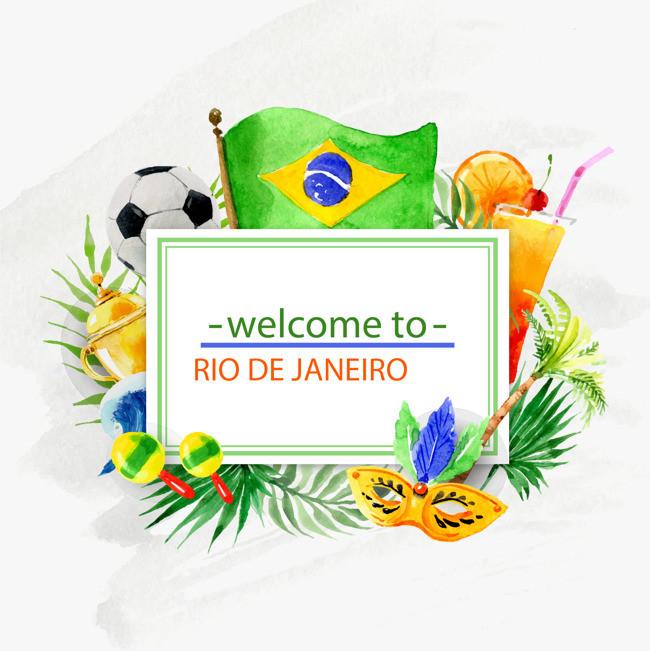 里约奥运会2016奥运会海报素材