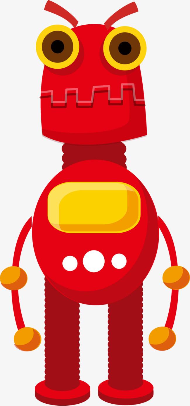 圖片 > 【png】 紅色機器人  分類:手繪動漫 類目:其他 格式:png 體積
