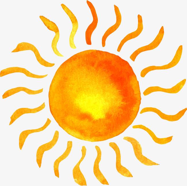 卡通手绘太阳
