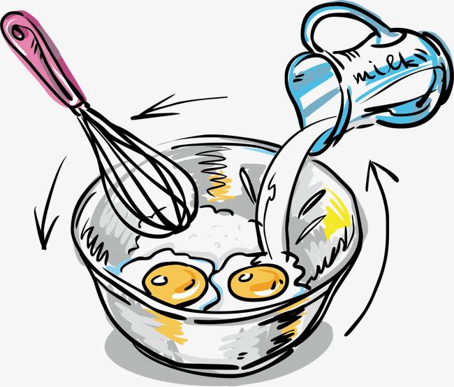 图片 > 【png】 卡通手绘 食物 牛奶打蛋  分类: 类目:其他 格式:png