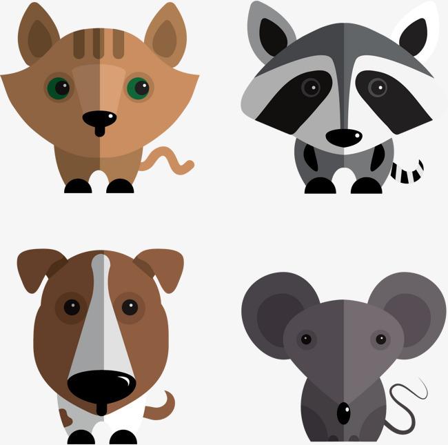 图片 > 【png】 矢量手绘小动物海报  分类:手绘动漫 类目:其他 格式