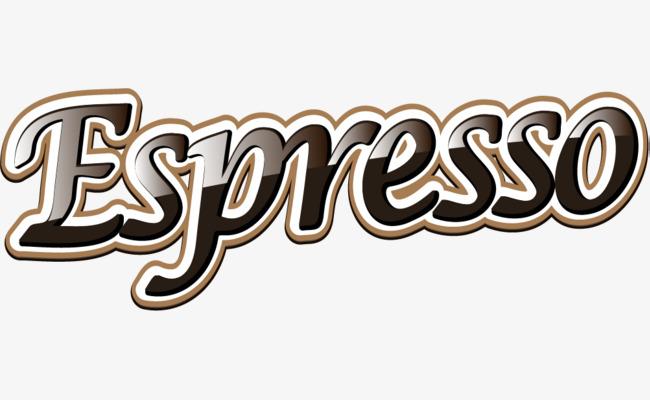 浓咖啡英文艺术字素材图片免费下载_高清png_千库网