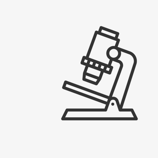 手绘显微镜
