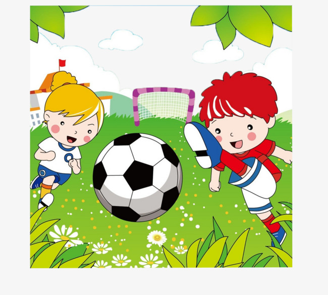 足球比赛参赛图片