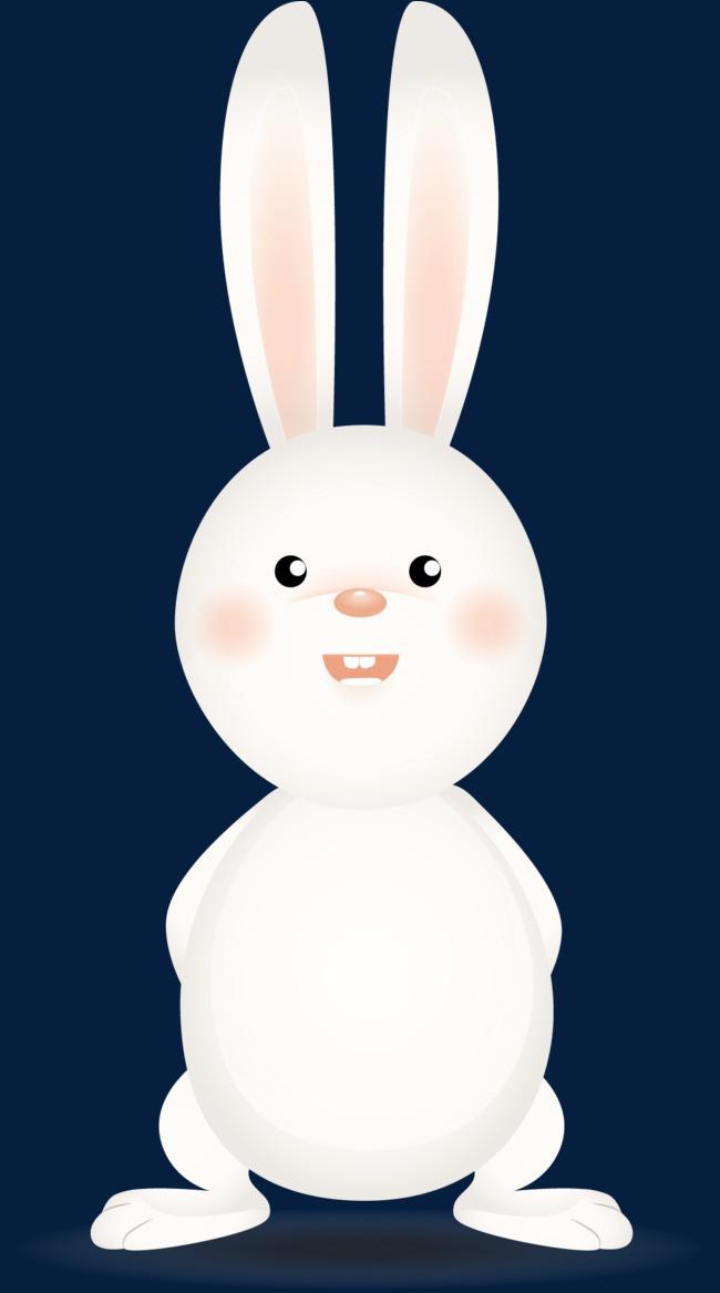 图片 > 【png】 卡通可爱小白兔  分类:手绘动漫 类目:其他 格式:png