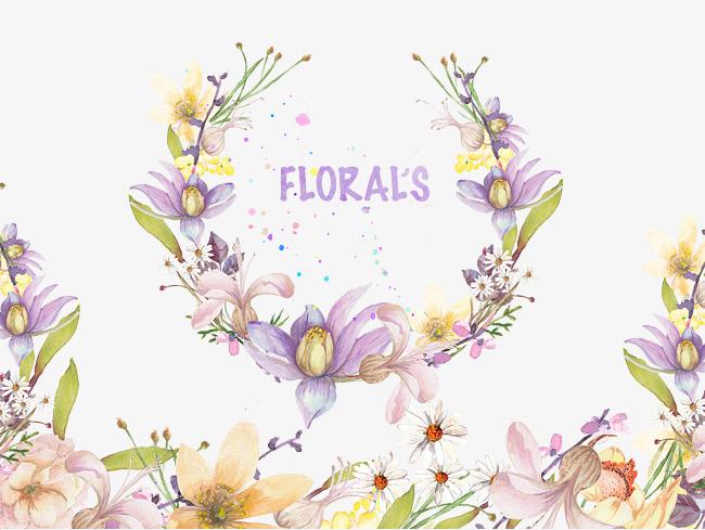 花朵标签素材图片免费下载_高清png_千库网(图片编号
