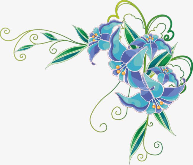 本次手绘花朵作品为设计师 怀化学院李老师创作,格式为png,编号为