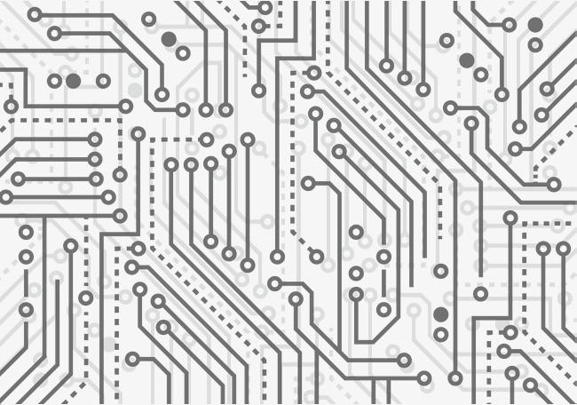 微型集成电路板