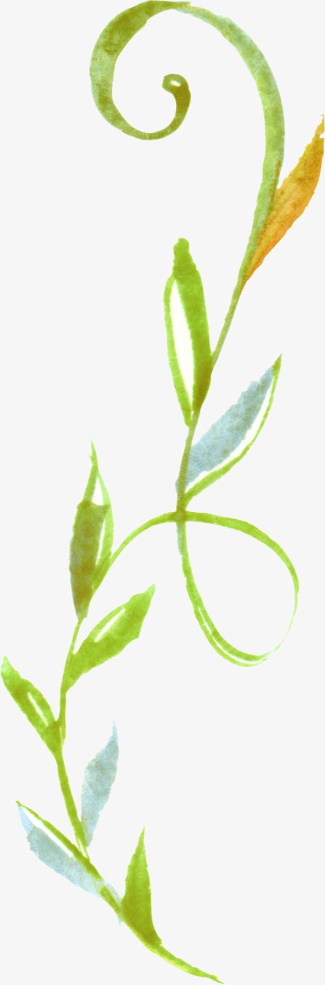手绘绿植png素材下载_高清图片png格式(编号:18714825