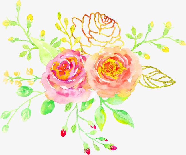 图片 手绘背景 > 【png】 手绘鲜花  分类:装饰元素 类目:其他 格式