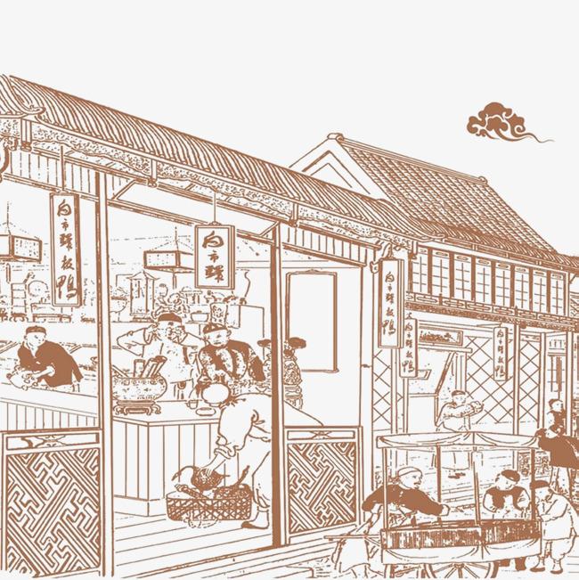 图片 > 【png】 集市饼铺  分类:手绘动漫 类目:其他 格式:png 体积