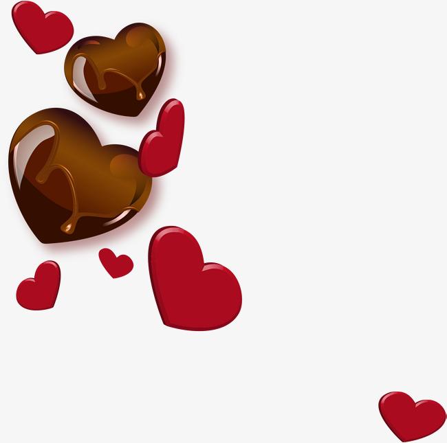 愛心巧克力邪惡_愛心巧克力壁紙_愛心巧克力