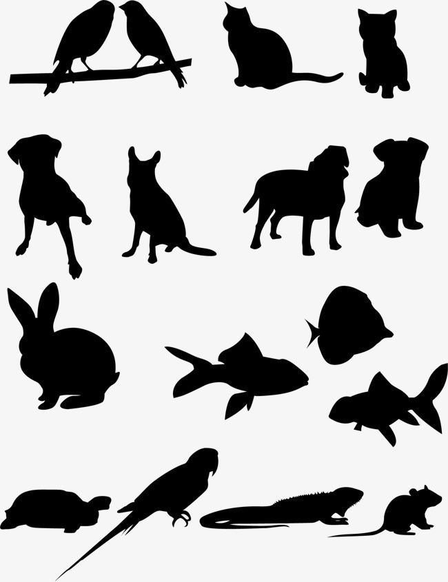 1541*2001 90设计提供高清png装饰元素素材免费下载,本次动物影子作品