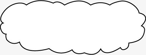 云朵边框_png素材免费下载_ 500*190像素(编号:)_90