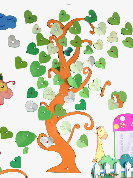 手绘梦想树