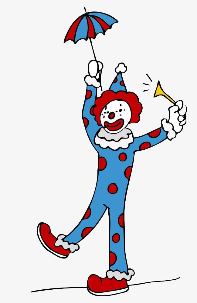 小丑走钢丝绳图片
