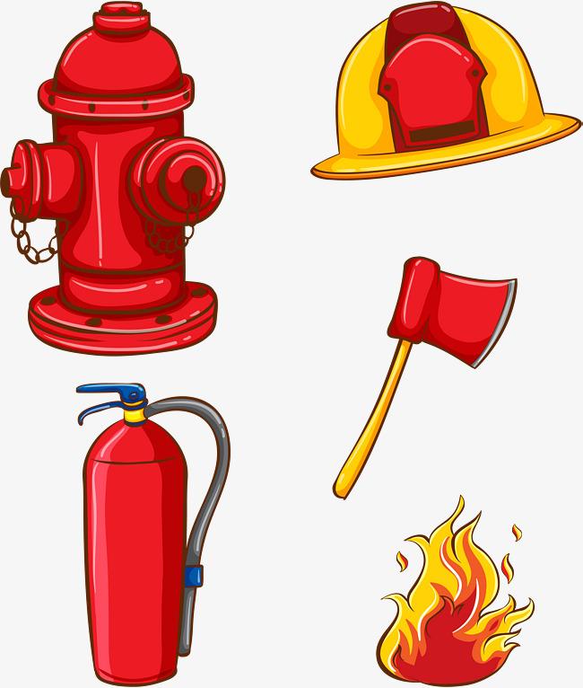 手绘消防安全素材图片免费下载 高清psd 千库网 图片编号8623724