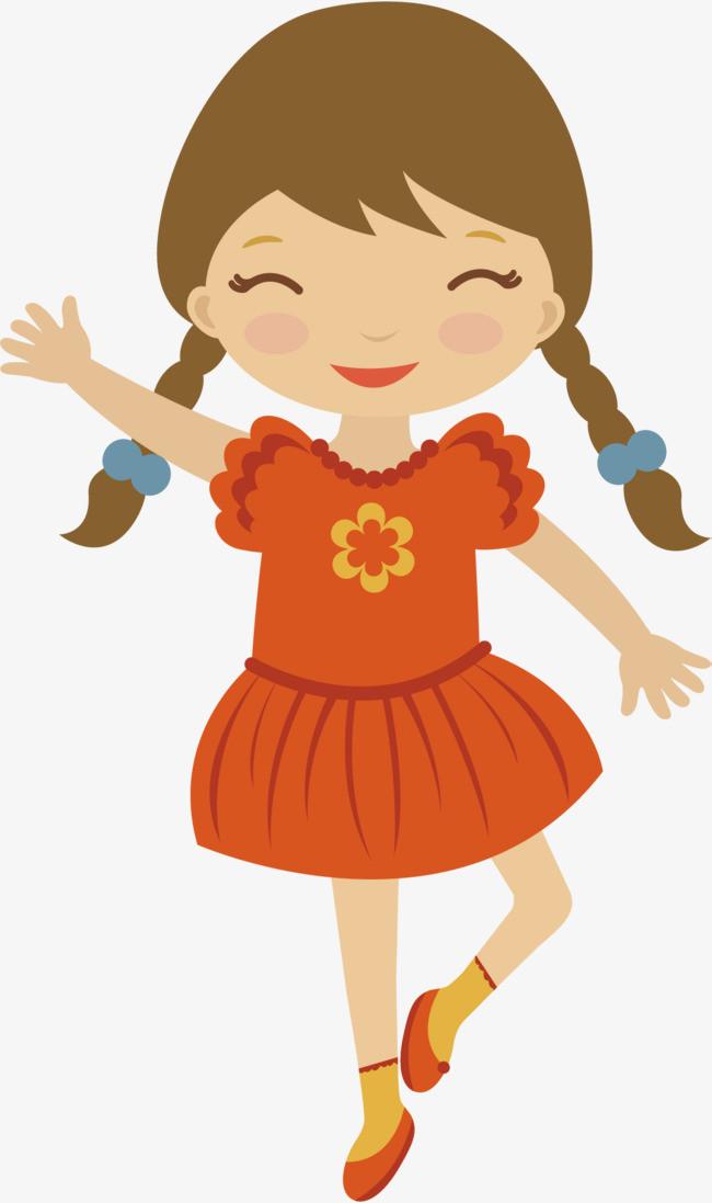本次矢量可爱手绘小女孩作品为设计师鸿利装饰创作,格式为png,编号为