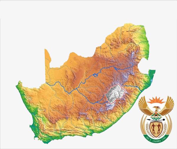 南非地图地理