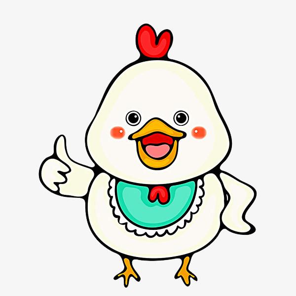 可爱的小鸡