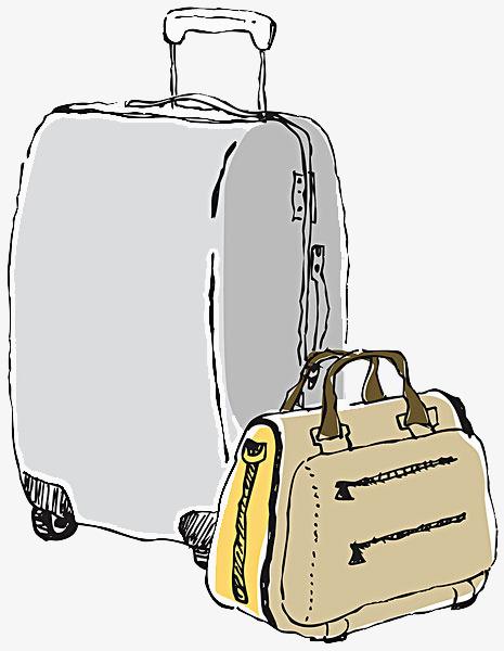 行李箱拉杆箱 密码箱 手提包 旅行箱 箱包             此素材是90