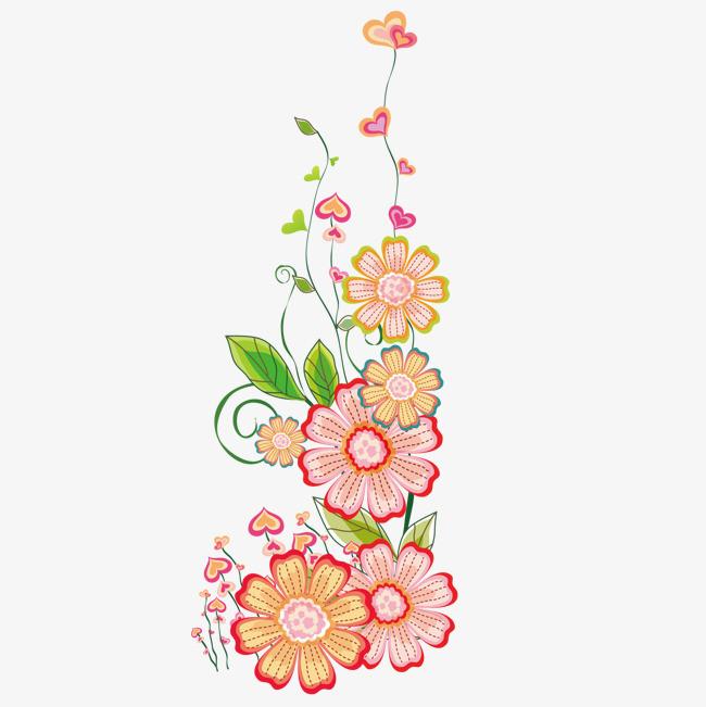 图片 > 【png】 卡通手绘春天花  分类:装饰元素 类目:其他 格式:png