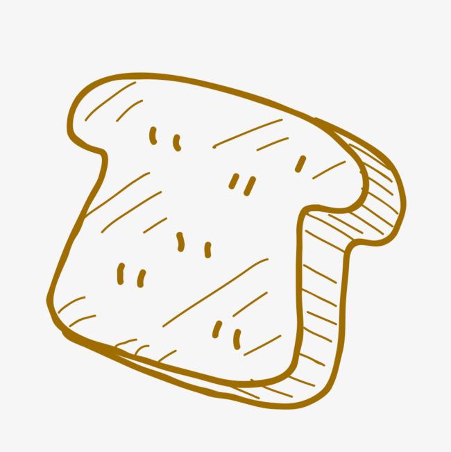 简笔画面包