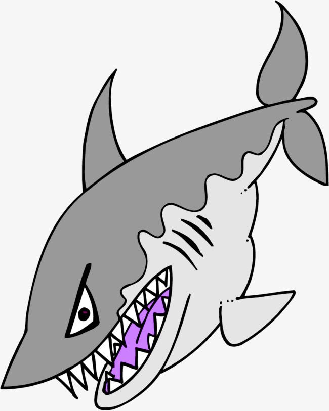 手绘海豚漫画