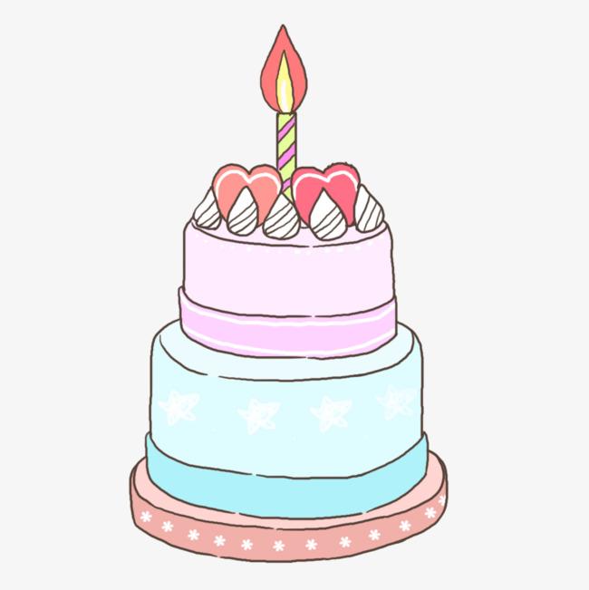 图片 手绘卡通 > 【png】 手绘蛋糕