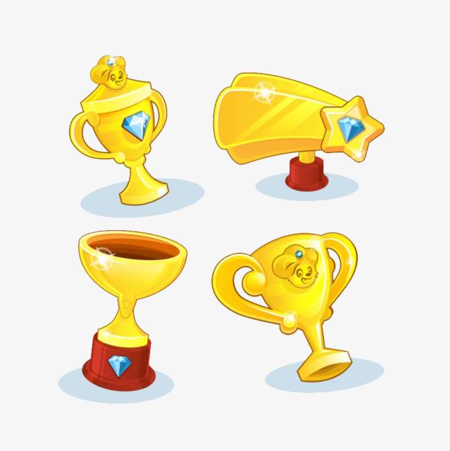 手绘奖杯素材图片免费下载 高清png 千库网 图片编号8684064