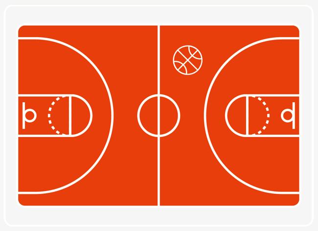 篮球 篮球场 场地 卡通版 卡通篮球场 大红色篮球 篮球场 场地 卡通图片