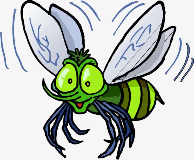 手绘的蜜蜂