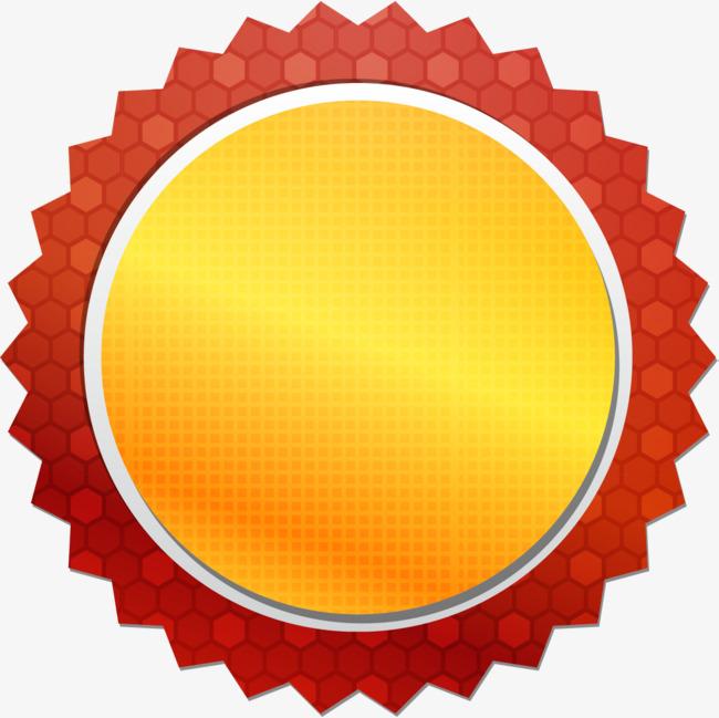 小清新红色圆圈