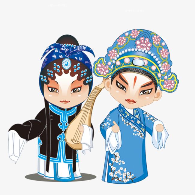 尺寸:945*945 90设计提供高清png手绘动漫素材免费下载,本次中国戏曲
