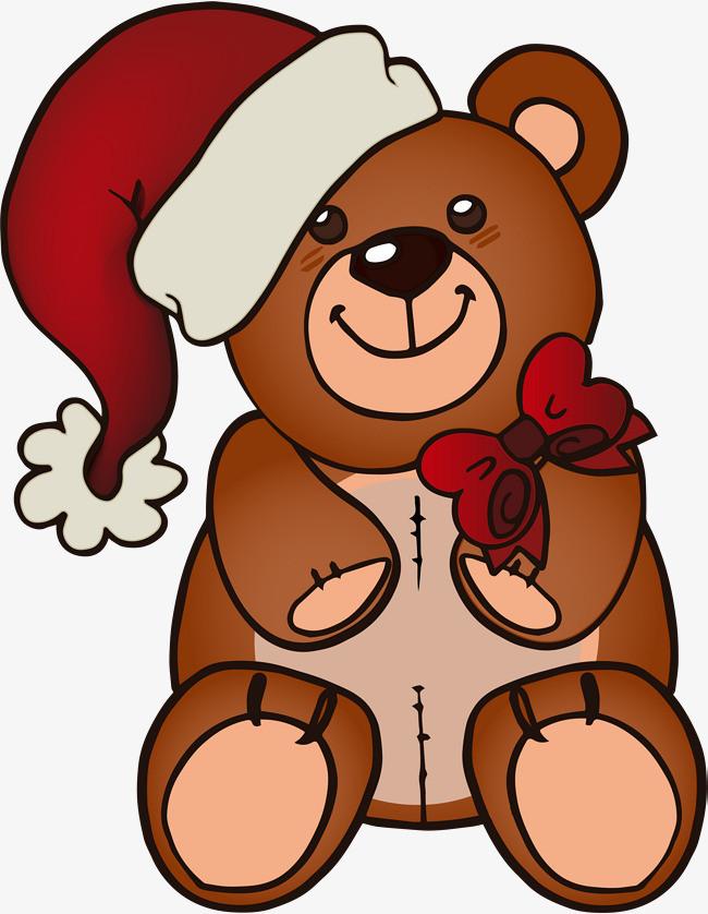 卡通棕色小熊图片